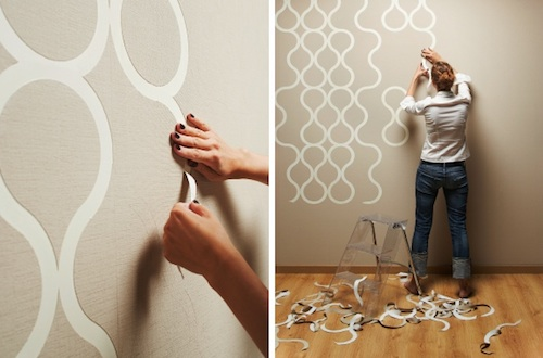 trending tuesdays: designing your own wallpaper - pink little