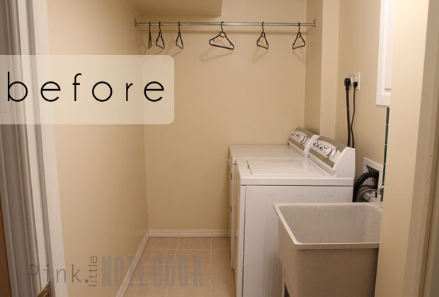 A Quick Cheap Laundry Room Refresh