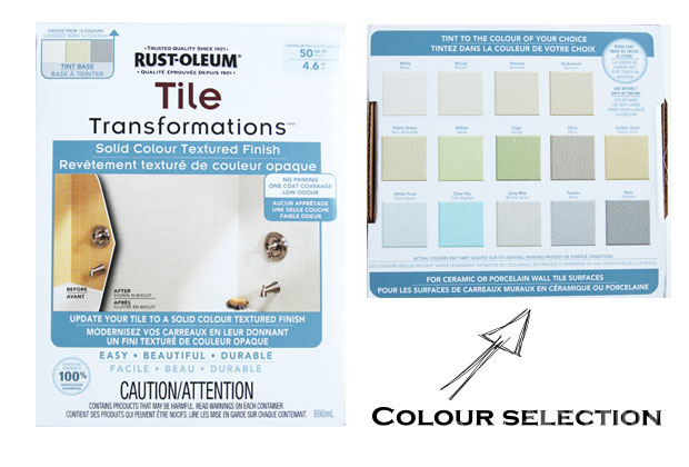 Yes You Really Can Paint Tiles Rust Oleum Tile Transformations Kit