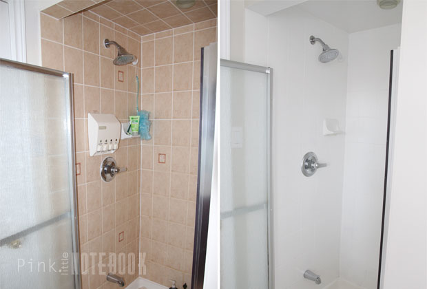 Painting Fiberglass Shower Stall