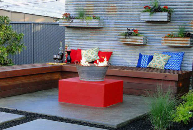 Outdoor Privacy Wall Ideas Pink Little Notebookpink