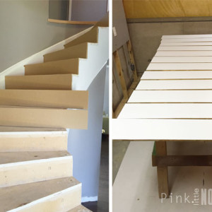 Prepping The Stairs: Refacing Project