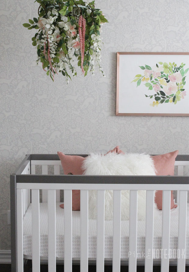Orc Reveal Baby Girl S Whimsical Nursery Pink Little
