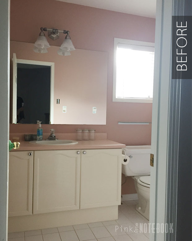 DIY Bathroom Makeover On A Budget