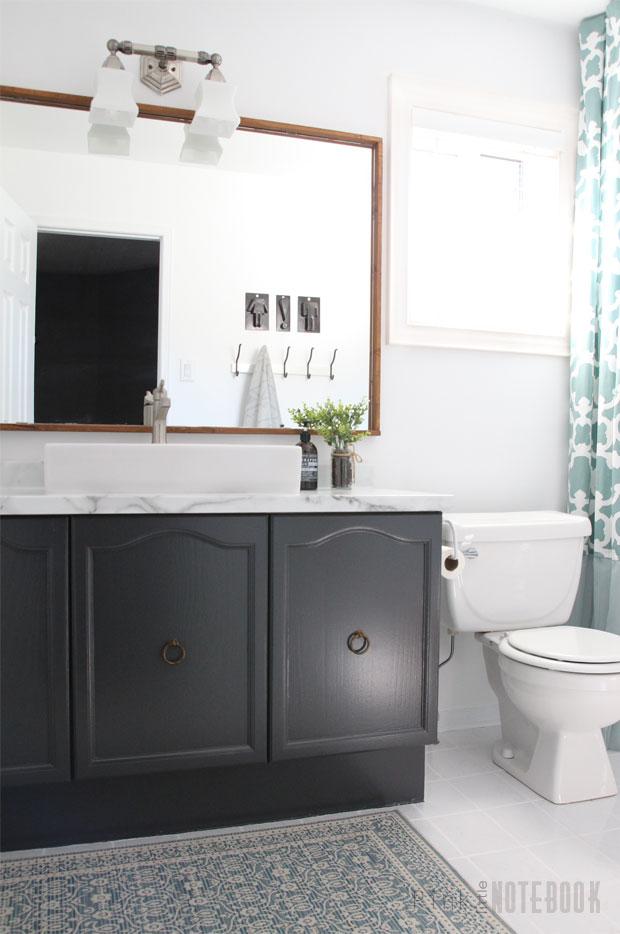 DIY Bathroom Makeover On A Budget Pink Little NotebookPink Little - Diy bathroom makeover on a budget