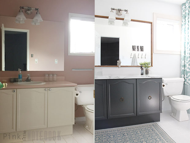 bathroom makeovers on a tight budget diy bathroom makeover on a budget pink 24913