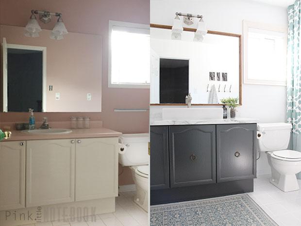 Bathroom Makeovers On A Budget. Diybathreveal9_pln