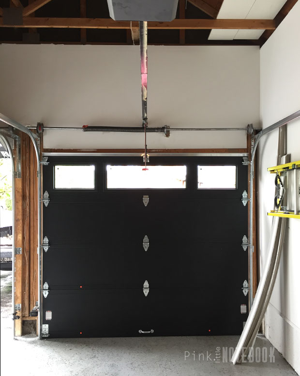 Our New Garage Doors The Garaga Difference Pink Little