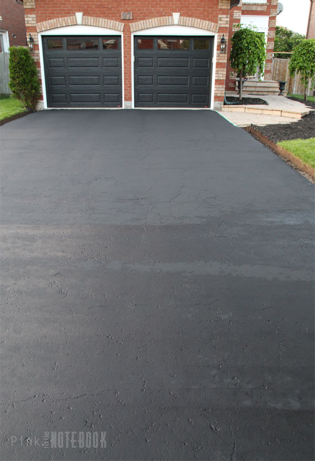 How to Renew your dated Curbs & Driveway - Pink Little ...