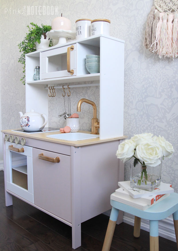 Customizing your IKEA DUKTIG Play Kitchen - Pink Little ...