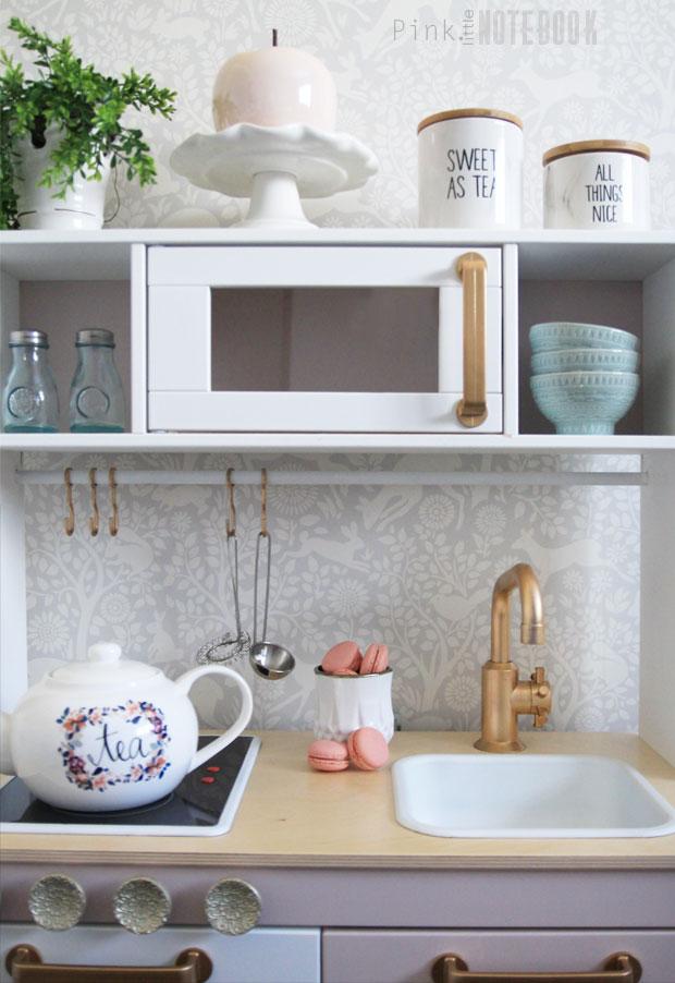 Customizing Your Ikea Duktig Play Kitchen Pink Little