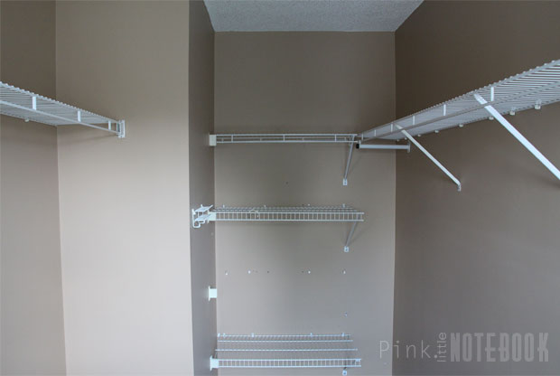 before: designing my walk-in closet makeover