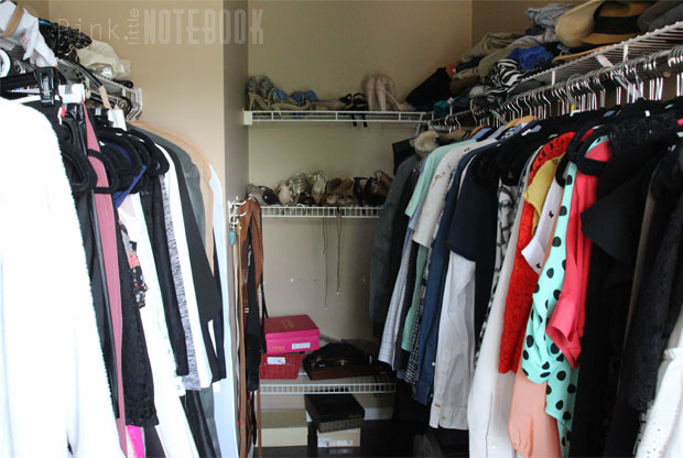 Before: designing my Walk-in Closet