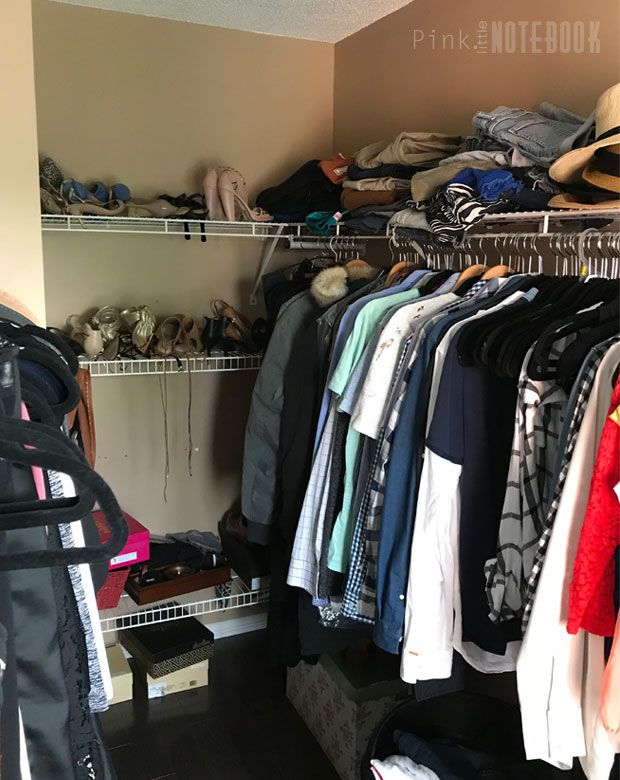 Before: Designing My Walk In Closet