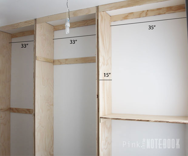 Built In Closet >> Installing Our Own Built In Closet System With Pricing