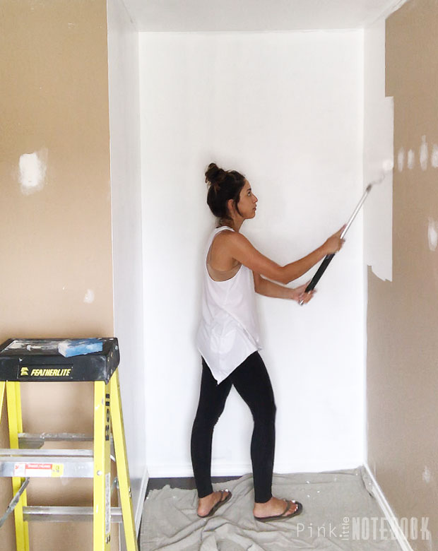 Painting the closet white