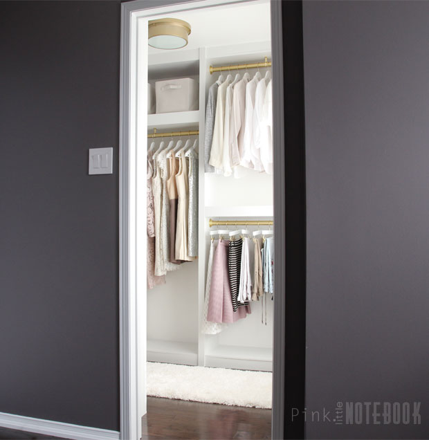 This Space Is Small But Mighty. Coming Up With A Plan Was Half The Battle.  After Doing Research On Different Types Of Prefab Modular Closet Systems,  ...