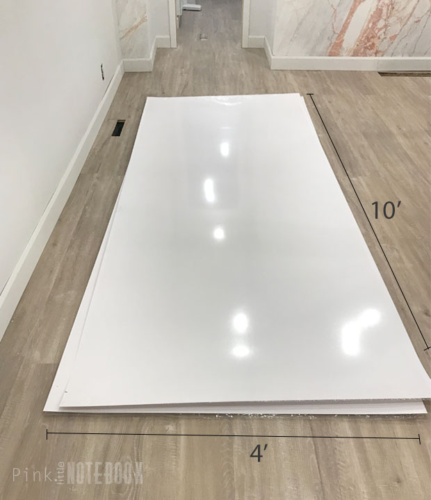 Merveilleux These Are Formica Infiniti ColorCore2 Laminate Sheets (shown Here In  White). Meaning You Can Apply Them Anywhere Your Heart Desires, Whether  Itu0027s A ...
